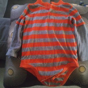 baby boy long bodysuit